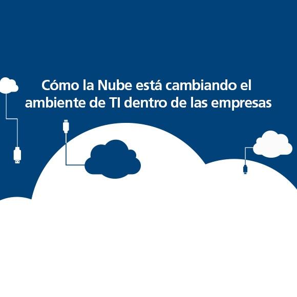 Cómo la Nube está cambiando el ambiente de TI dentro de las empresas