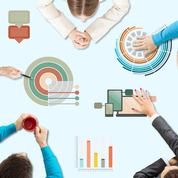 5 tipos de colaboración de proyectos y cuando usar cada uno de ellos