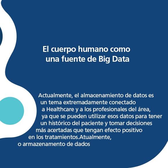 El cuerpo humano como una fuente de Big Data