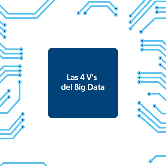 Los 4 V's del Big Data