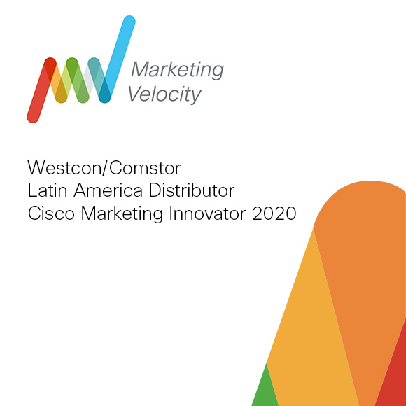 Comstor fue reconocida con el premio Innovator of the Year en el Cisco Marketing Velocity 2020.